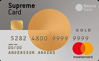 Supreme Gold Kreditkort