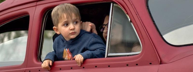 Säkerhet för barn i bil