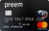 Preem Mastercard bensinkort